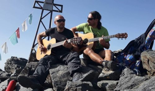 La musica di Giorgio & Ghila risuona a 2200 metri