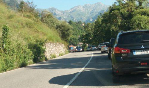 Mattina di Ferragosto, rallentamenti verso l'alta Valle