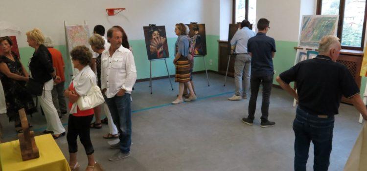 Artisti sul Serio 2018: 34 pittori, scultori e poeti in mostra a Gromo San Marino