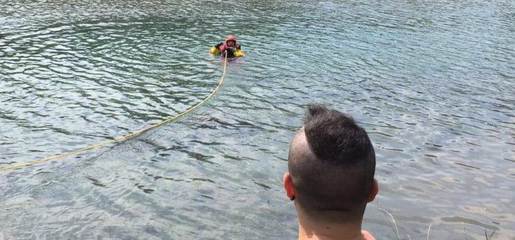 Cane e padrone nel canale a Fiorano, recuperati illesi dai Vigili del fuoco
