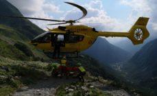 Escursionista 22enne in difficoltà nei pressi del Rifugio Curò