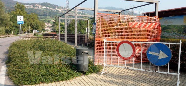 Pista ciclabile, chiuso anche il ponte tra Gazzaniga e Cene