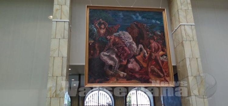 ALIGI SASSU, a Palazzo Creberg 36 opere di colore e libertà