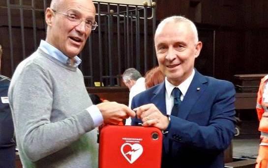 Fondazione Creberg dona due defibrillatori alla Procura di Bergamo