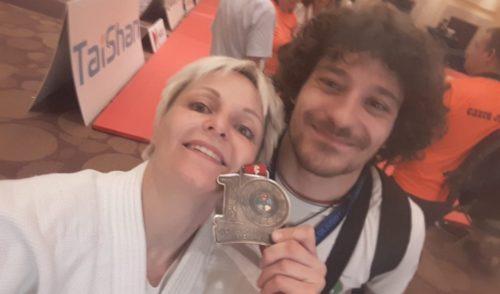 Elen Merelli Campionessa del mondo di Judo in Messico