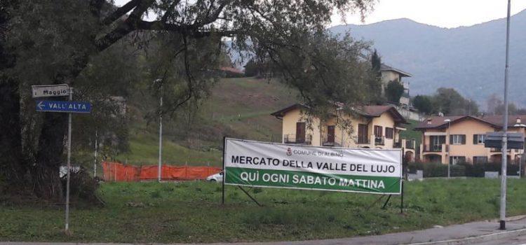 Da sabato al via il nuovo mercato settimanale in Valle del Lujo