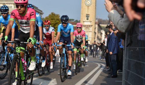 Al via da Bergamo Il Lombardia – foto