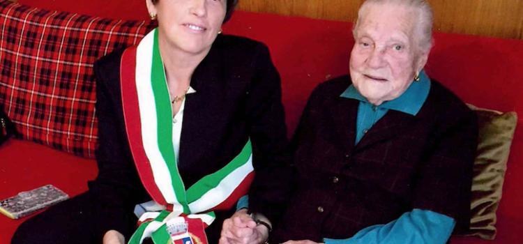 Maria Tonoli di Villa d'Ogna compie 110 anni, è la più anziana della provincia
