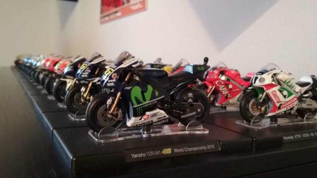 timeless design 697d3 6f0e9 Tutte le moto di Valentino Rossi... in casa: la passione per ...