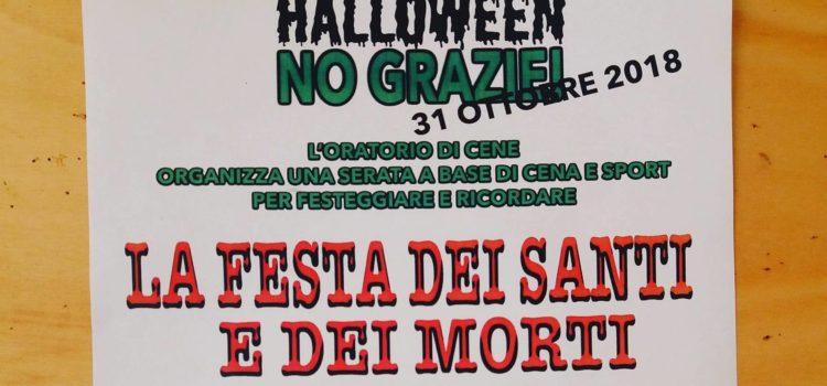 Halloween? No, grazie. All'oratorio di Cene c'è la Festa dei Santi e dei Morti