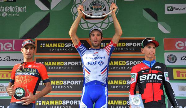 Il francese Thibaut Pinot vince in solitaria il Giro di Lombardia