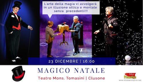Magico Natale, domenica a Clusone uno spettacolo di magia