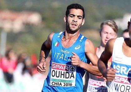 Ahmed Ouhda convocato in nazionale per gli Europei di cross in Olanda