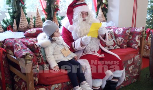 Babbo Natale è a Gromo, ed è già un successo