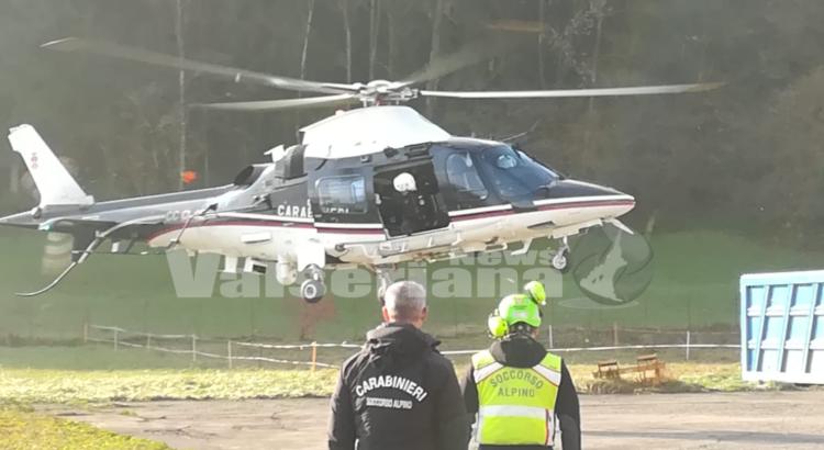 62enne si allontana da Clusone, impiegato l'elicottero dei Carabinieri