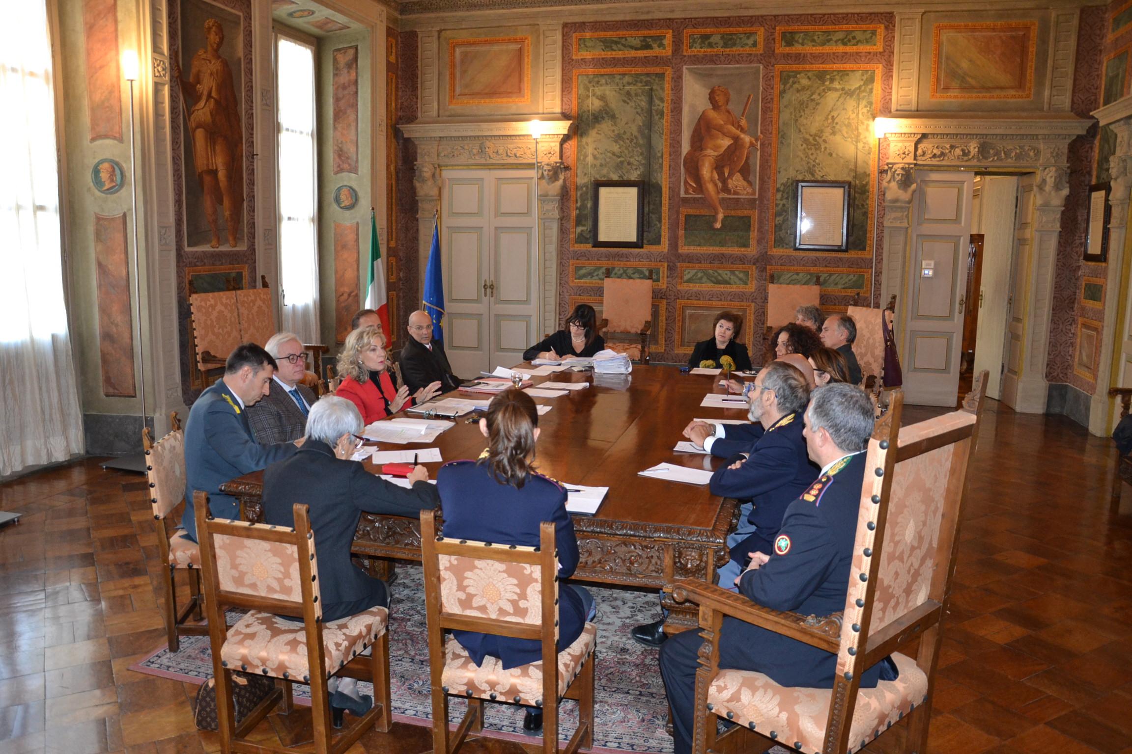 incontro-prefetto-polizia-carabinieri