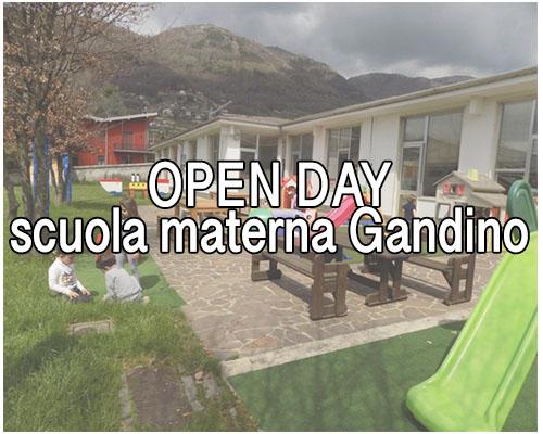 open day scuola materna gandino