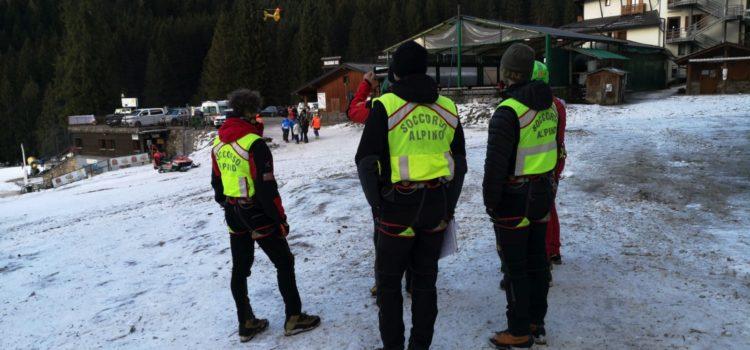 Tre giovani bloccati in Presolana per la troppa neve, recuperati dal soccorso alpino