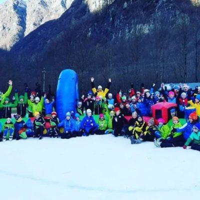 Winter games, grande successo a Valbondione