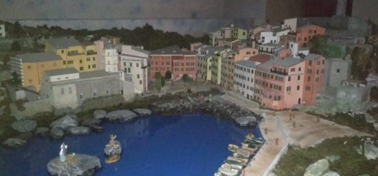Cerete: Le Cinque Terre con Vernazza riprodotte nel presepe della Parrocchia