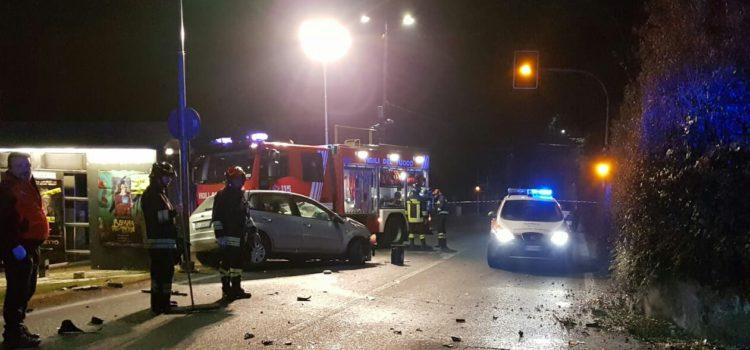 Incidente a Leffe, 23enne in gravi condizioni