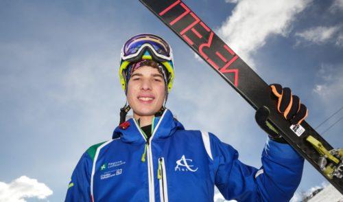 Sci alpinismo: Luca Tomasoni di Castione Campione Italiano giovani al Tonale