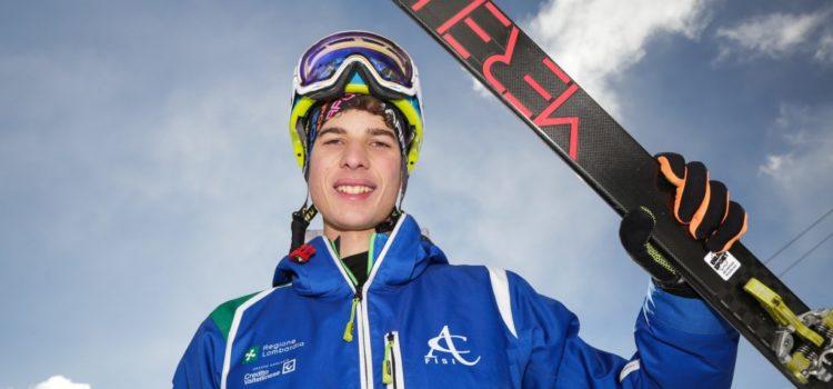 Luca Tomasoni Bronzo ai mondiali di sci alpinismo di Villaras