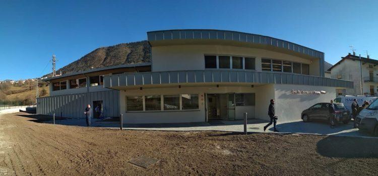 Cerete, si inaugura la nuova scuola
