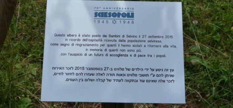 Selvino, rubata la targa a ricordo dei bambini ebrei salvati a Sciesopoli