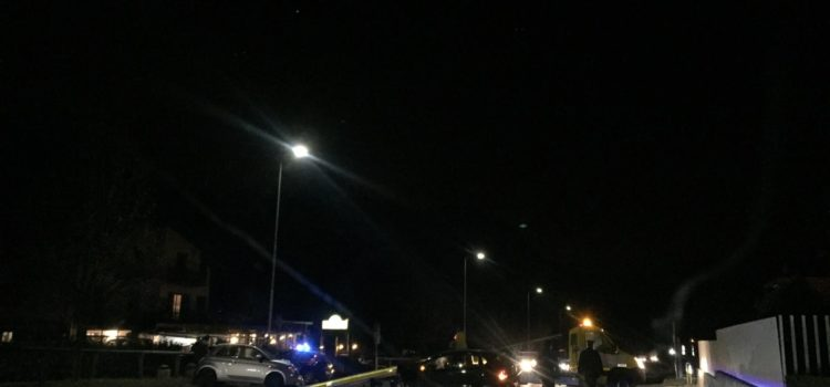 Incidente fra due auto a Clusone, due feriti