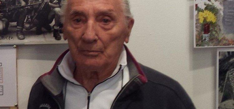 Addio a Mario Aresi, partigiano della Brigata Garibaldi