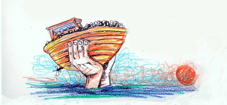 """Fra mare e speranza, a Casnigo i """"Disegni dalla Frontiera"""""""
