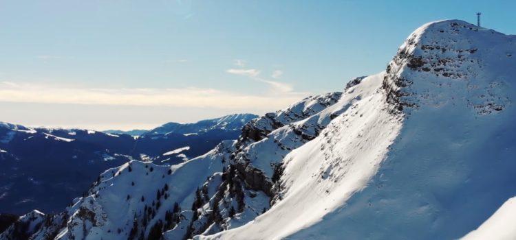 Il Monte Pora innevato visto dal drone – Video