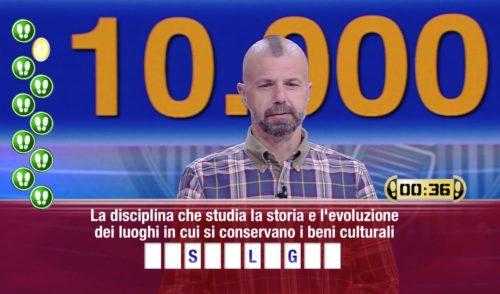 Il Bepi trionfa a Caduta Libera: vincita di 10mila euro