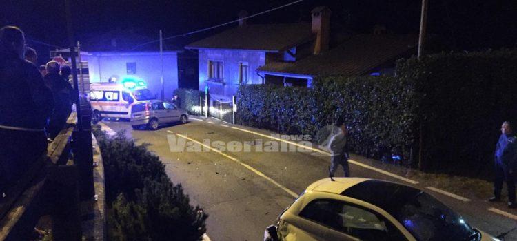 Incidente a Gorno, soccorsi con due ambulanze e auto medica
