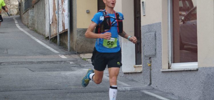 Il gandinese Luca Picinali primo alla 125km della Abbots Way Ultra Trail