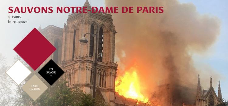 Notre Dame bruciata, al via una raccolta fondi internazionale