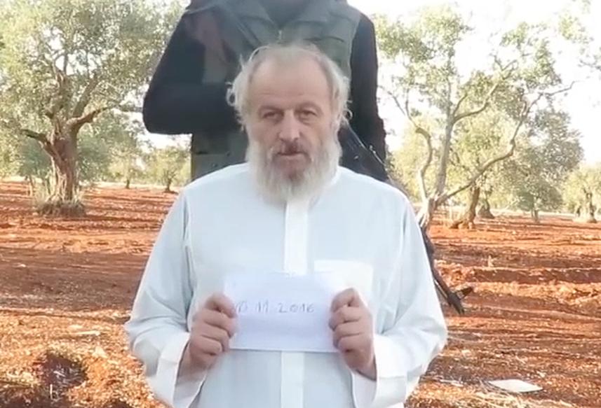 Ostaggio bresciano in Siria: liberato Sergio Zanotti