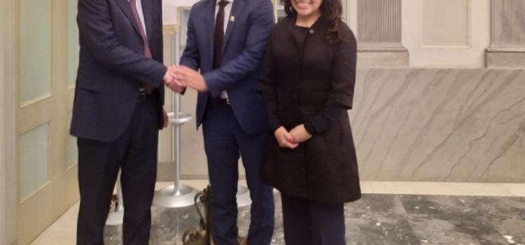 Università di Bergamo sempre più internazionale, il Rettore incontra l'Ambasciatore della Bolivia