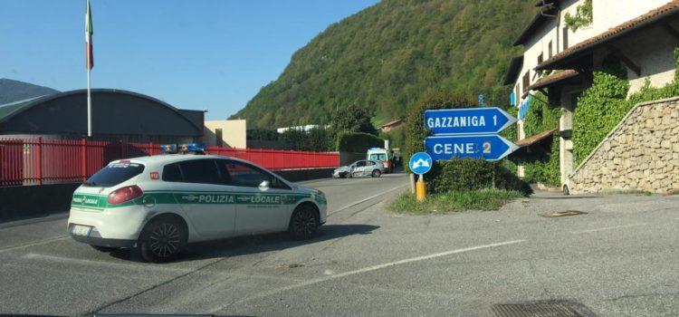 Incidente sulla provinciale a Gazzaniga, 4 persone coinvolte