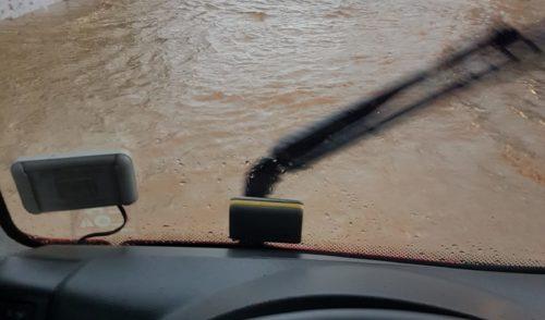 Maltempo: bomba d'acqua a Villa di Serio