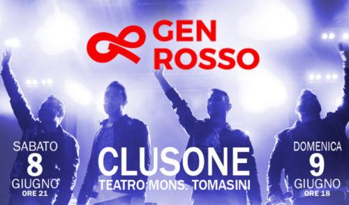 8 e 9 giugno a Clusone il concerto dei Gen Rosso: aperte le prevendite