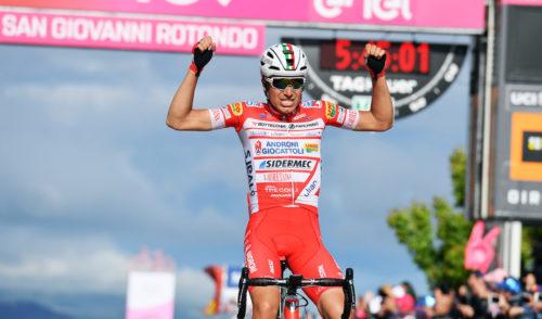 Il bergamasco Masnada vince la sesta tappa del Giro d'Italia