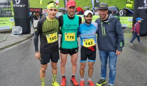 Fabio Pasini e Maria Eugenia Rossi vincono la prima edizione della Val del Riso Trail