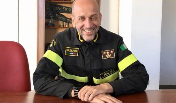 Calogero Turturici neo Comandante Provinciale dei Vigili del Fuoco di Bergamo