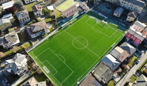 """""""Gandinese Stadium"""", sabato si inaugura a Gandino il nuovo campo"""