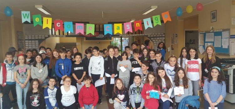 Amici di penna, per gli alunni di Casnigo gemellaggio marchigiano