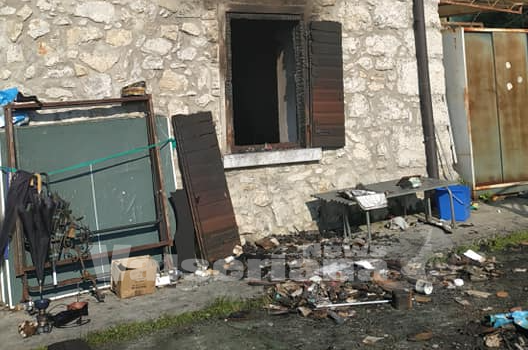 Incendio abitazione ad Albino: famiglia sfollata, aperta la raccolta fondi