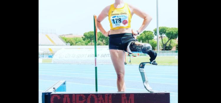 5 metri raggiunti, nuovo record mondiale per Martina Caironi