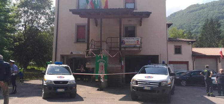 Clusone: inaugurata la sede della Protezione Civile